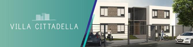 Villa Cittadella proyecto desarrollos inmobiliarios Grupo Ciappesoni con Exoneraciones y Beneficios